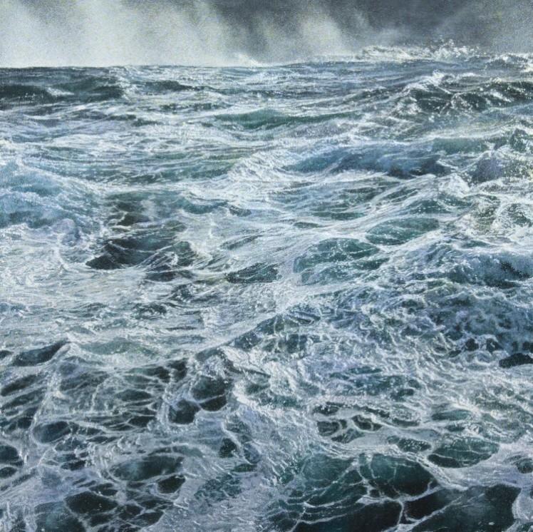 Hein, Filet I, 2015, Acryl auf Baumwolle, 130 x 130 cm