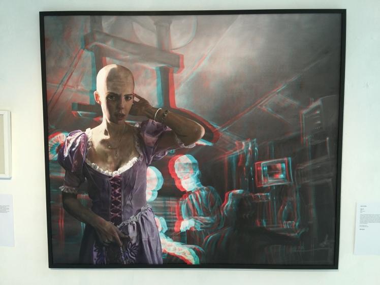 Sara Le Roy - Rapunzel 2014, Oil on canvas