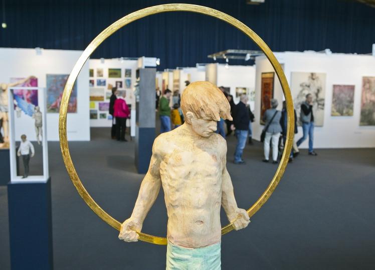 "Thomas Hildenbrand: ""Aureole"", art KARLSRUHE 2015"