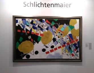 Galerie Schlichtenmaier | Ernst Wilhelm Nay - Mit gelben Scheiben und blauen Spitzen