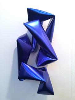 Willi Siber - Wandobjekt (blau)