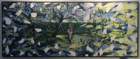 Galerie Bengelsträter | Bernd Finkeldei - Androgyn mit Zwillingsbäumen