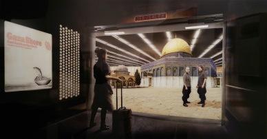 Montoro12 Contemporary Art | Larissa Sansour - Jerusalem Floor