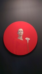 Galeria Victor Lope | Salustiano - Chica con Flor