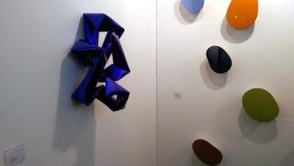 Galerie von Braunbehrens |Willi Siber - Wandobjekt blau