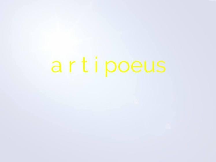 Artipoeus
