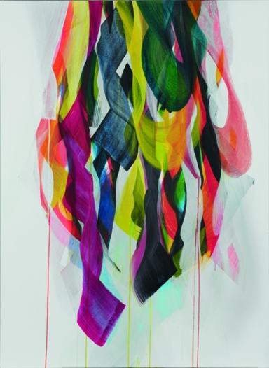 Christine Rath, #1315 | Pigment Acryl auf LW | 100x140cm | 2013 (2)