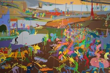 The Triumph of Death, Miao Xiaochun 2015
