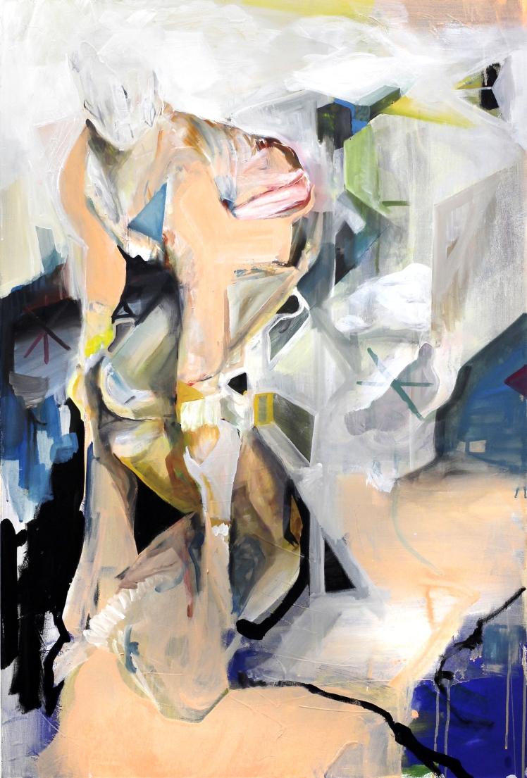 Michal Plata - Zwilling | Öl Leinwand | 120x80 | 2013