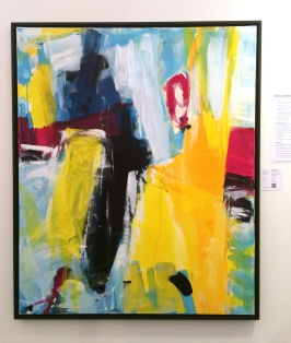 Katja Gramann - Realitäten, 2014, Acryl auf Leinwand 120 x 100 cm