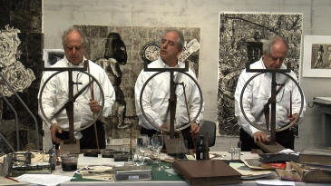 "William Kentridge ""Drawing Lessons I–III"" (c) William Kentridge"