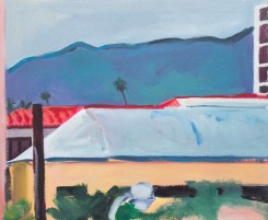 Patrick Angus, Untitled (L.A.), 1980s, oil on canvas, 36 x 43,5 cm, Art by Patrick Angus, © Douglas Blair Turnbaugh