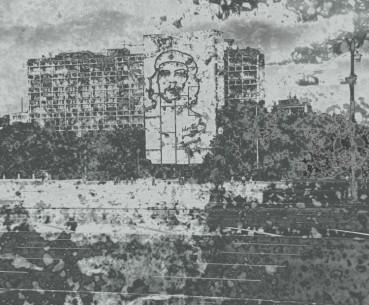 Gert Wiedmaier, Aus der Serie »Aussicht auf Erinnerung« Havanna No.21, Fotografie/ Mehrfachbelichtung