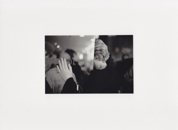 Bernard Plossu, Paris 2011, 11,5 x 8 cm, s/w Baryt, Edition 2/30