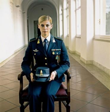 "Timm Rautert, ""Guardia di Finanza"", Appuntato Scelto, aus der Serie: Weltraum, Rom 2014/2015, 28,1 x 27,6 cm, gerahmt 46 x 37 cm, Courtesy Parrotta Contemporary Art"