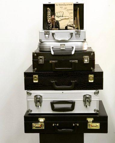 Luggage of Freedom   Nina E Schoenefeld 2016