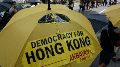 Umbrella Revolution Hongkong