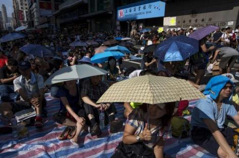 Umbrella Revolution Hongkong REUTERS/Tyrone Siu