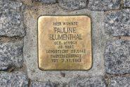Stolperstein - Memorial
