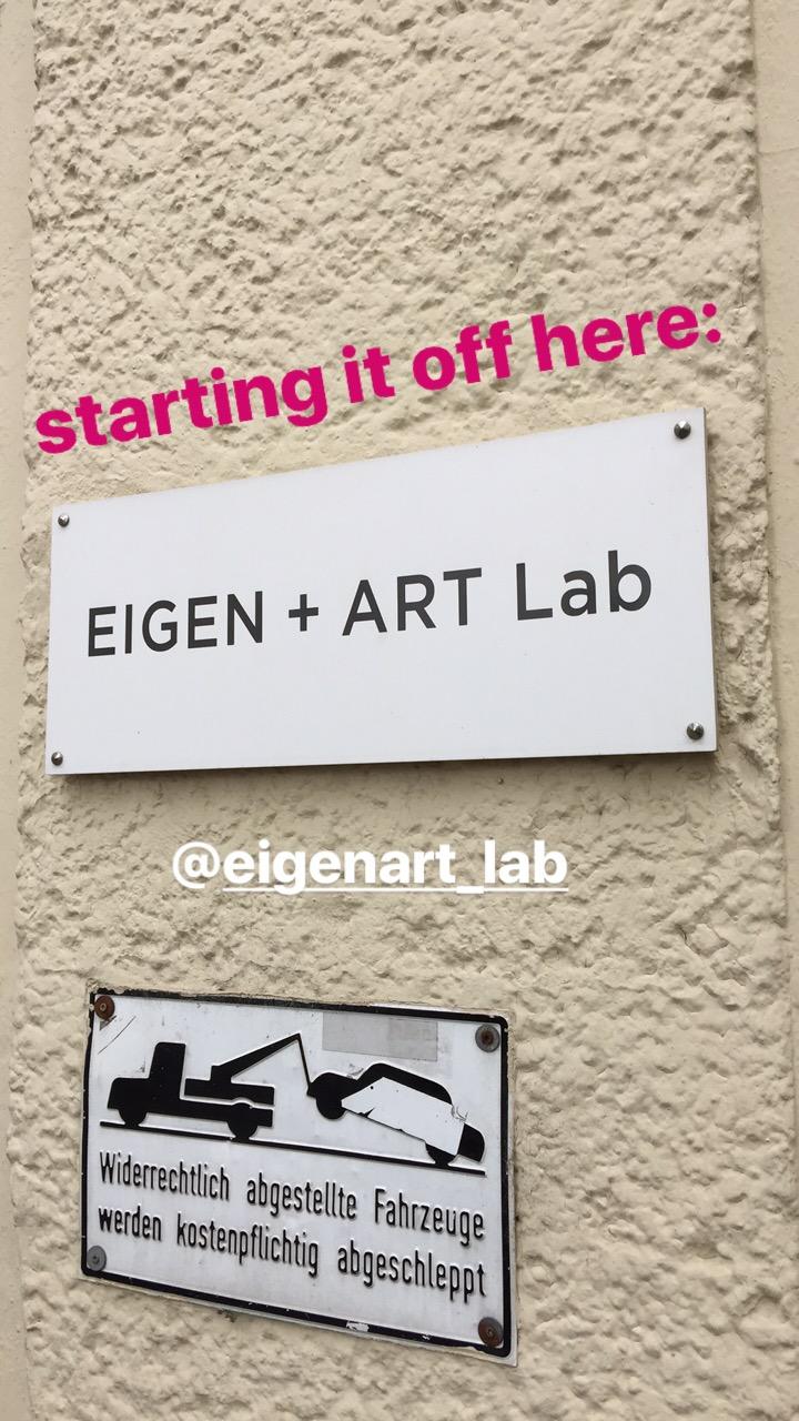 Eigen + Art Lab