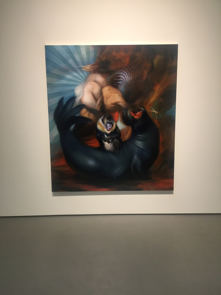 Hugo Wilson - Thierleben at Galerie Judin