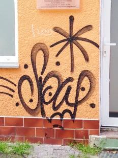 Beautiful example of a classic tag in Neukolln