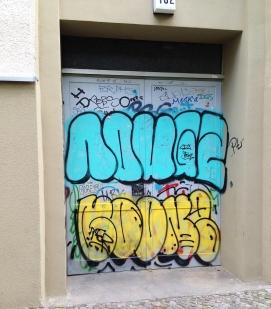 Throwie in Kreuzberg