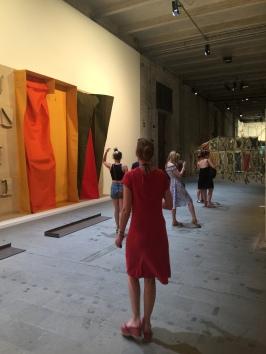 Franz Erhard Walther - Golden Lion for the Best Artist of the exhibition Viva Arte Viva * 1939 Germany, lives in Fulda Pavilion of the Common | 57th International Art Exhibition — la Biennale di Venezia