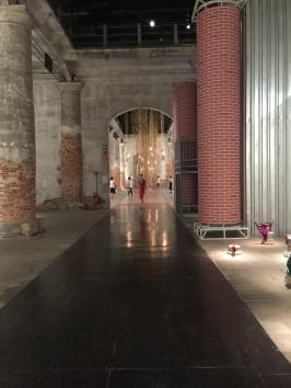 View of the Arsenale Pavilion of Traditions | 57th International Art Exhibition — la Biennale di Venezia