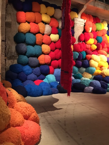 Takesada Matsutani * 1937 Japan, lives in Paris Pavilion of Colours | 57th International Art Exhibition — la Biennale di Venezia