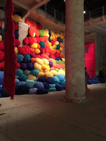 Takesada Matsutani * 1937 Japan, lives in Paris Pavilion of Colours   57th International Art Exhibition — la Biennale di Venezia